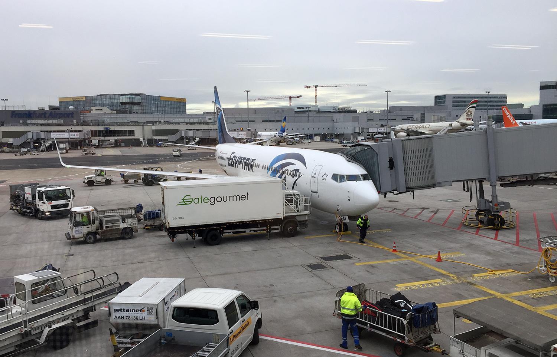 Egypt Air Airbus