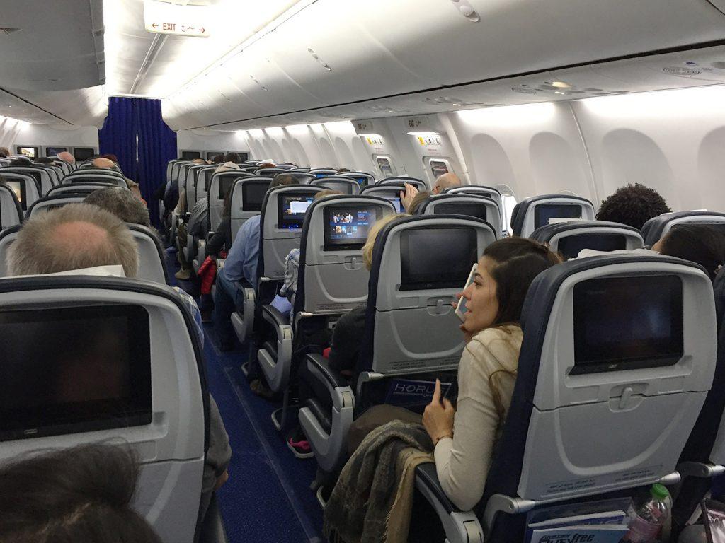 737 seats
